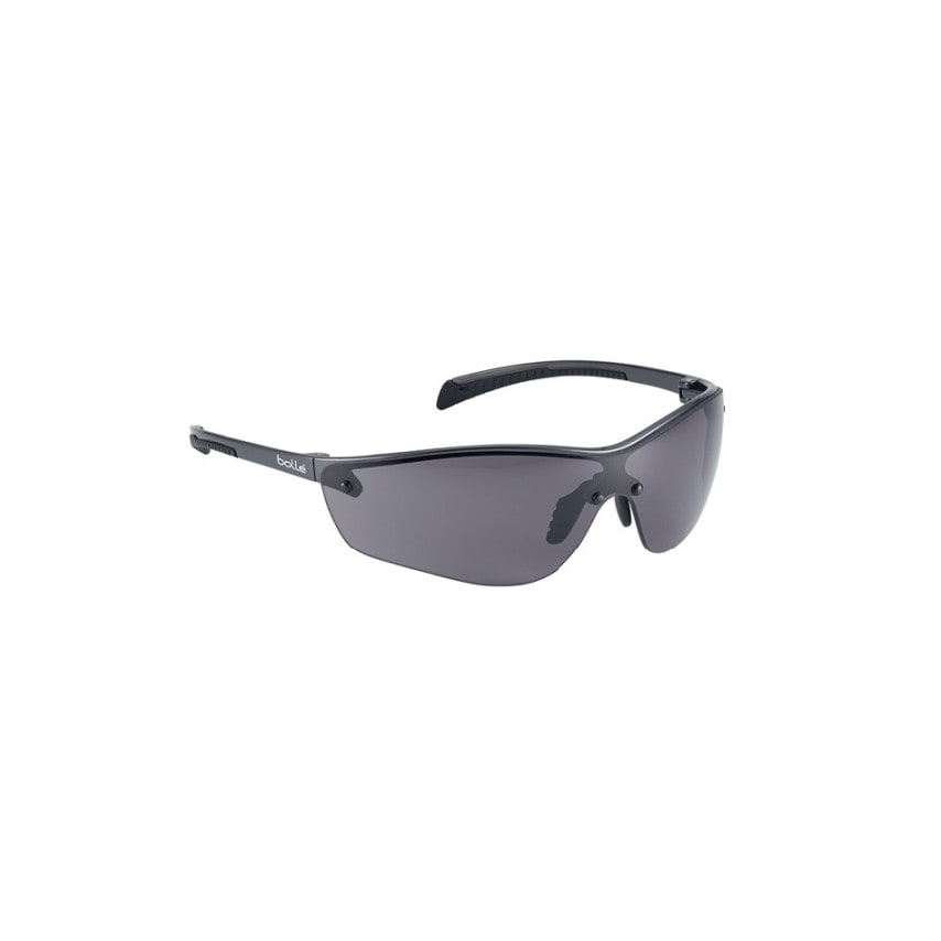 Bolle Silium+ Scratch-resistant/Anti-fog Platinum Coated Smoke Lens Safety Spectacles